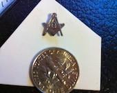 Masonic pin silver