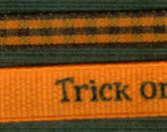 Halloween Ribbons Set - Trick or Treat