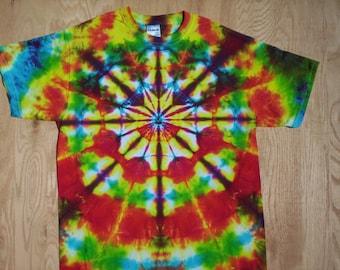 Summer Kaleidoscope Tie Dye Size Large