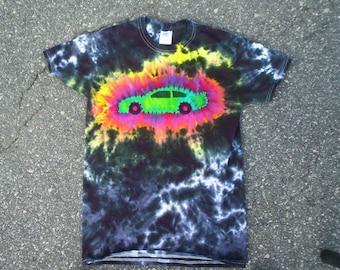 RRRRace Car Tie Dye