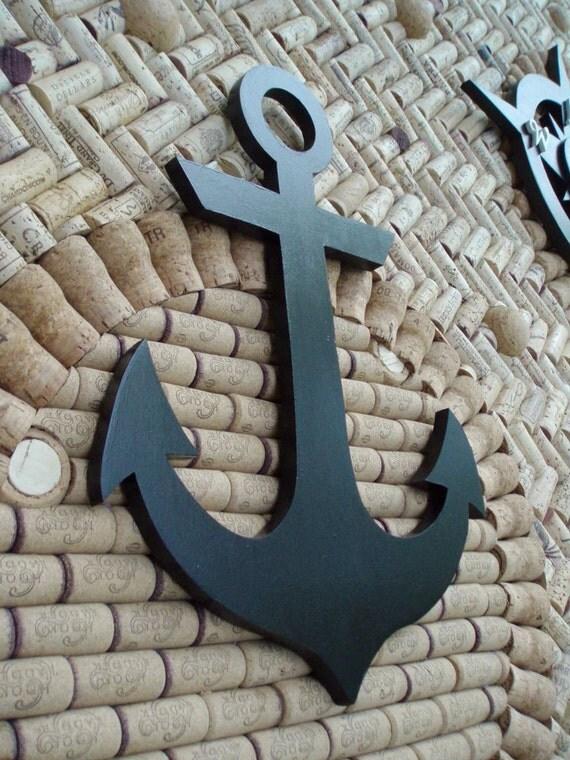 Items Similar To Anchor Wood Cutout Wall Decor On Etsy