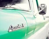 Mint Condition - Chevy Apache 10 - Vintage Truck - 8x12 Set of 5 Photographs - Digital Download