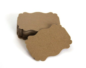 Handmade Paper Tags, Natural Tags, DIY Gift Tags-Escort Cards, Gift Tags, Wedding Favor Tags