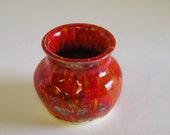 Firecracker Red Bowl