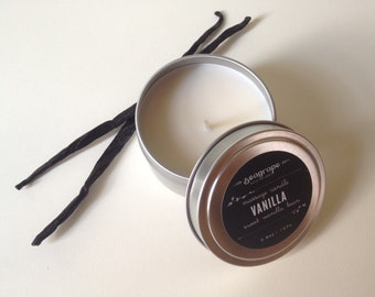 Vanilla Bean Kissable Soy Massage Candle