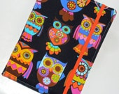 Kindle Cover Hardcover, Kindle Paperwhite, Nook Glow, all sizes,  Living Color Owl eReader Cover