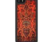 iPhone 4 iPhone 5 Samsung S3 Covers - Vintage Persian carpet - Free Metal Insert.