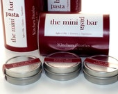 The Mini Bar Pasta Sauce Kit - The Mini Pasta Bar - Italian Culinary Herb Blends - Herb Blends for Home Cooks - Valentine Red