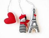 Paris je t'aime Ornaments
