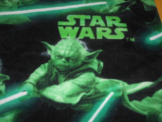 Yoda Star Wars Licensed Fleece
