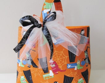 Trick or Treat Bag Halloween Tote