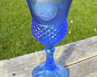 The Washington Goblet and Candle - by Fostoria