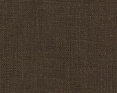 For Cathy - medium weight linen..chocolate...1.5 yard of softend 100% euro linen