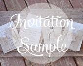 Postscript Invitation Sample