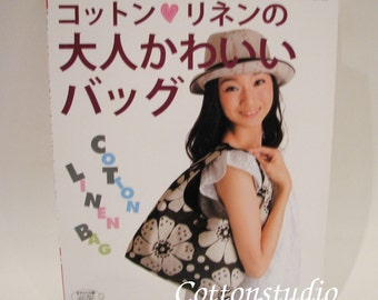 Cotton and Linen Kawaii Bags Japanese Pattern Book