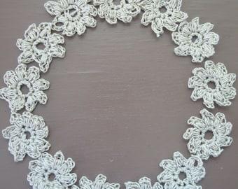 Aerin Hand Crocheted Flowers