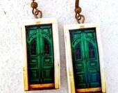 The Antique GREEN DOORS Portugal  Replica Earrings  WATERPROOF