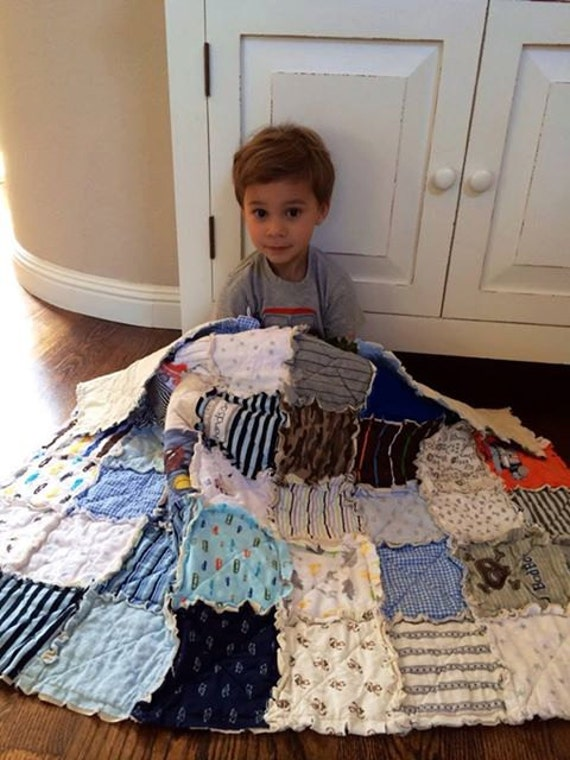 Buy in Bulk Memory Rag Quilts, made from baby clothing, Tshirt Quilt, Baby Clothing Quilt, Children, Babies, Toddlers, BUY MORE and save