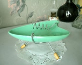 Retro Ashtray - Jetsons Style Ceramic 1970s vintage