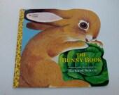 1993 The Bunny Book Golden Shape Children's Book