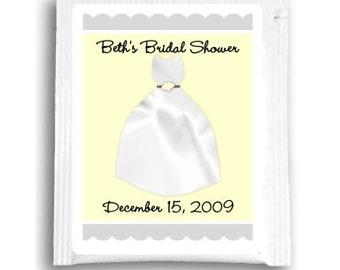 Tea Bag Favors, Custom Tea Bag Labels, Customized Tea Favors for Wedding Shower, Baby Shower Tea Favors, Bridal Shower Tea Favors