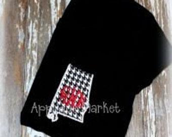 Machine Embroidery Design Applique Appli-Pocket 1 Alabama Shape INSTANT DOWNLOAD