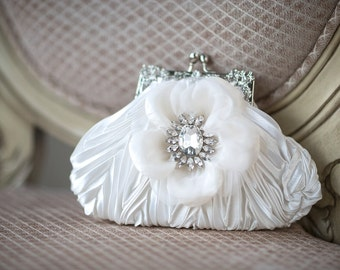 Wedding Handbag, Bridal Purse, Wedding Purse, Bridal Hand Bag