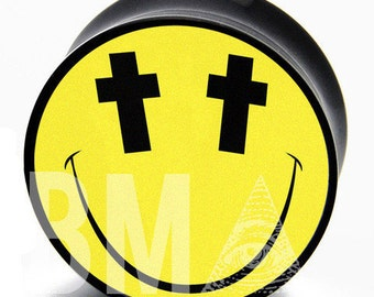 "5/8"" (16mm) Cross Eyed BMA Plugs Pair"