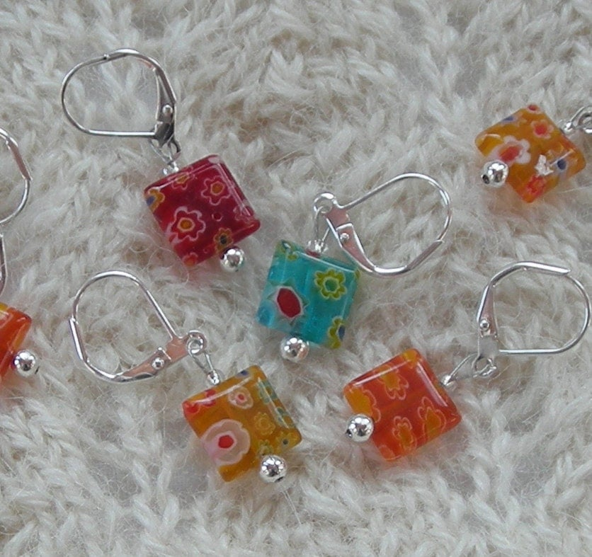 Using Stitch Markers In Knitting : crochet stitch markers knitting stitch by lavenderhillknits