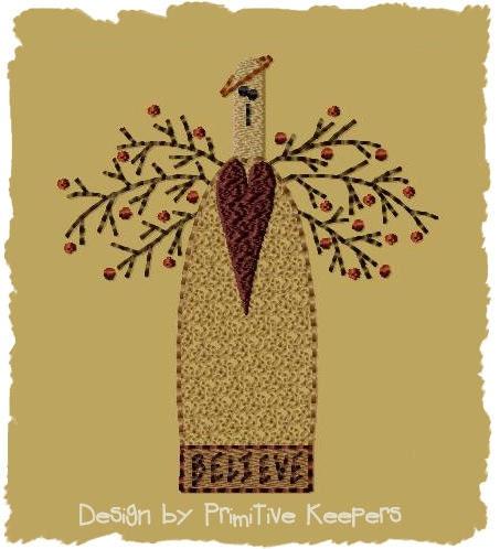 primitive machine embroidery designs