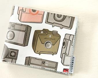 Mens Wallet - Vintage Camera