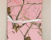 Pink Real Tree AP Camo Changing Pad Cover Bassinet Sheet  Realtree  Hunting  Camoflauge  Diaper Baby Nursery Shower Gift
