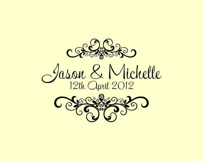 15 OFF Coupon On Custom Wedding Stamp