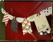 veryMERRY chipboard holiday banner