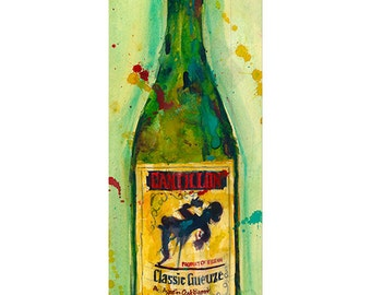 Cantillon Brewery Beer Classic Gueuze  Beer Art Print or  Giclee Archival Print