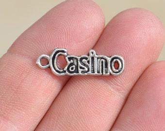 1 Silver CASINO Charm SC1500