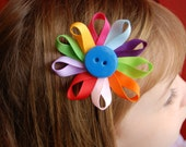 One Daisy Girl Scout Flower Petal Hairclip