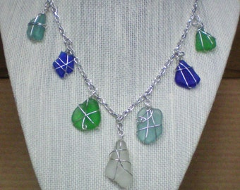 Necklace Sea Glass Beauty