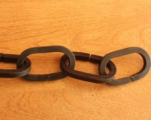 Forged Iron Chain. For Hanging Pot Racks, Plants, Lighting....