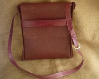 No Stitch Messenger Bag  Brown