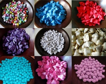 Pick Your Color Wedding Seed Bombs - Wildflower Seed Bombs - Flower Seed Bombs