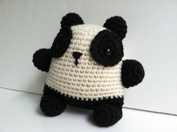 Panda Amigurumi Kawaii : Amigurumi Crochet Panda Bear Plush Toy Kawaii Plush Panda ...