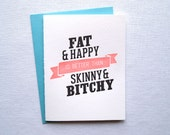 Fat and Happy Card