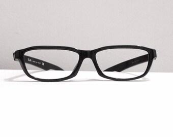 Black Ray Bans, Rectilinear Modified Wayfarer Classic Prescription Quality Frames, Eyeglasses Sunglasses RB 2117 901