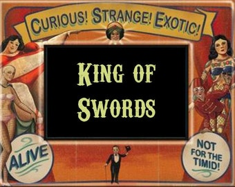 King of Swords Perfume Oil - 5ml Cold steel, mandarin, butterscotch, clove, melissa and black tea