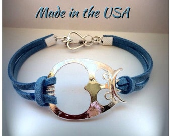 Owl Bracelet, Silver Owl Bracelet, Charm bracelet, Friendship bracelet
