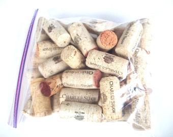 Wine corks, 40 natural wine corks, wine cork lot