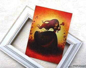 Mabon - Postcard