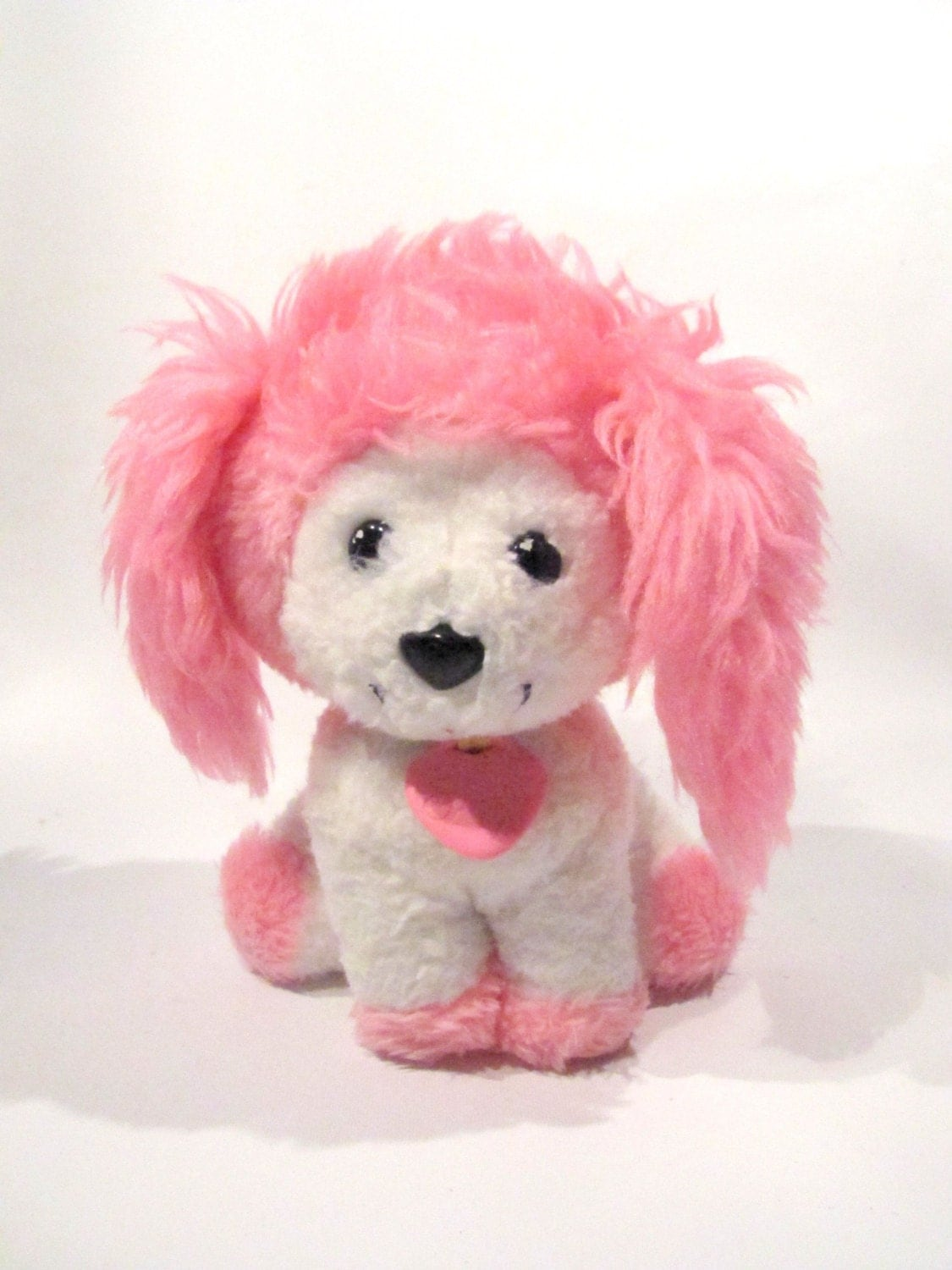 POOCHIE Dog Toy 1982 Mattel 7 inches Plush Stuffed Animal