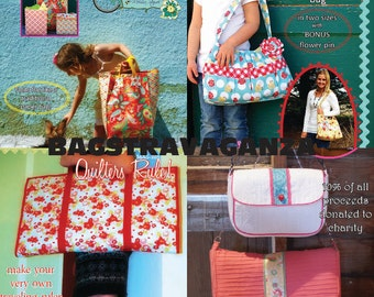 Bagstravaganza Bag Combo PDF Sewing Pattern Pack